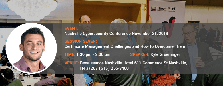 Nashville Cybersecurity Conference November 21, 2019